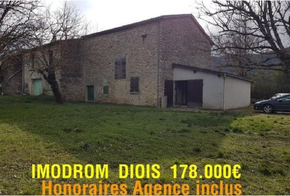 A vendre: Maison de Campagne, Ancienne ferme aménagée à Molière Glandaz